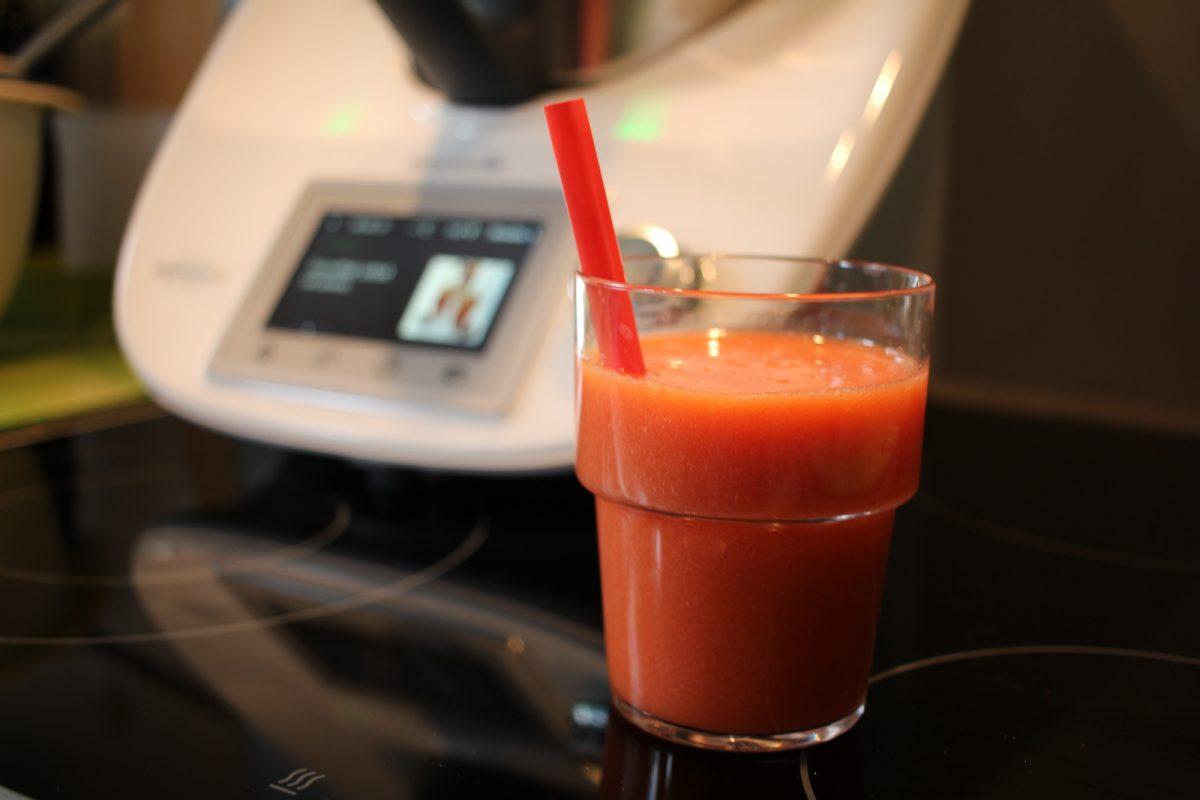 Thermomix Tm5 Quickie Erdbeer Smoothie Rezept