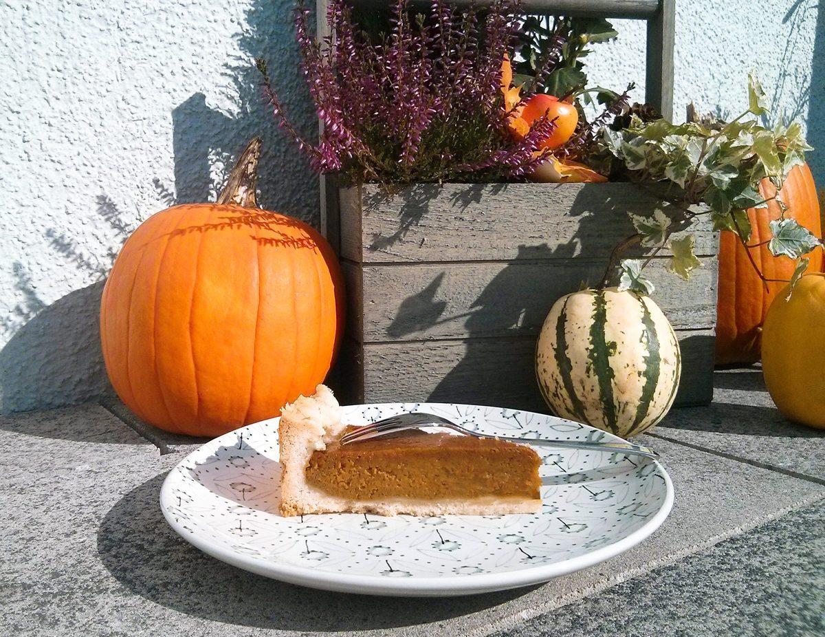 Pumpkin Pie Kurbis Kuchen Herbstliche Grusse Aus Thermomix Und Ofen