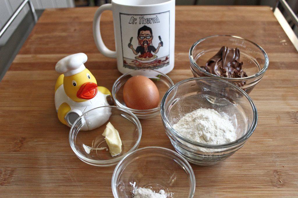 Ruck Zuck Tassenkuchen Mit Nutella Aus Der Mikrowelle