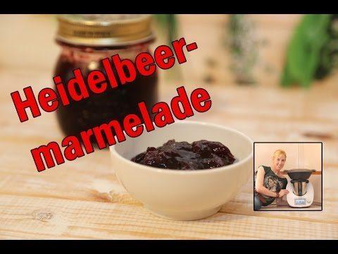 heidelbeer marmelade mit dem thermomix. Black Bedroom Furniture Sets. Home Design Ideas